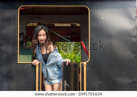 Lady Asian teen,Asian teen,Asian Teen With Bears Fashion #1045701634