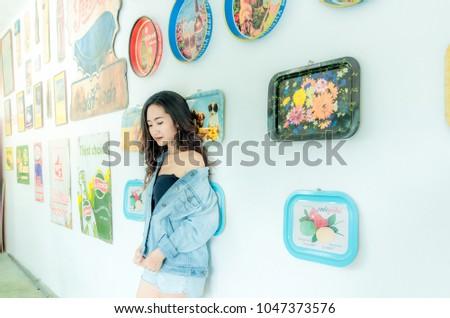 Lady Asian teen,Asian teen,Asian Teen With Bears Fashion #1047373576