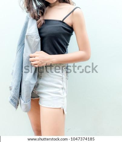 Lady Asian teen,Asian teen,Asian Teen With Bears Fashion #1047374185