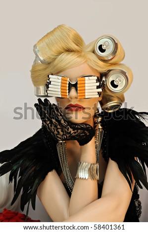 Lady Ga Ga mannequin