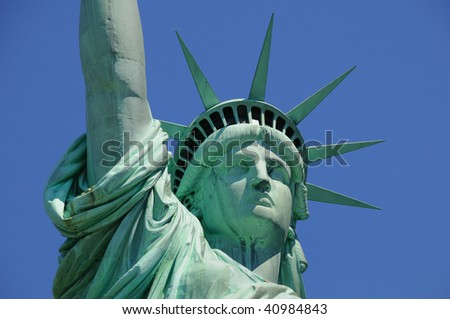 Lady Liberty - stock photo