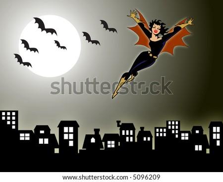 vampire bats sleeping. vampire bats visible from