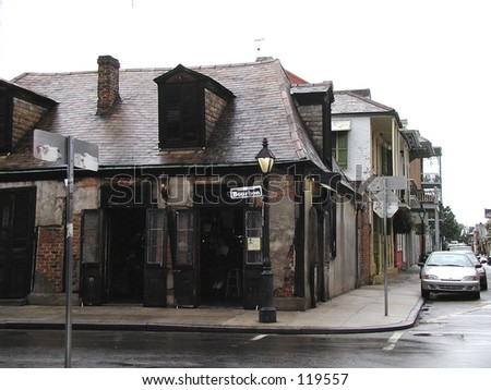 Lafitte's Blacksmith Shop, French Quarter, New Orleans