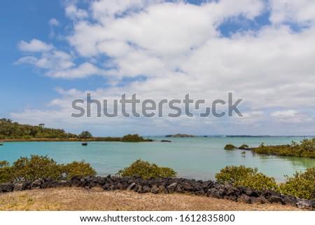 Lagoon at Rangitoto Island Scenic Reserve, Auckland, New Zealand