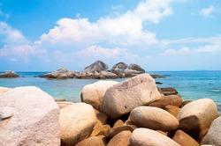 Lagoon Boulders Big Stones