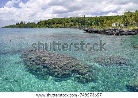 Lagoon on Mare Island, New Caledonia #748573657