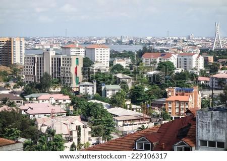 Lagos Nigeria Foto stock ©