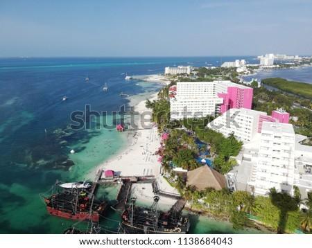 Laguna cancun, mexico #1138684043