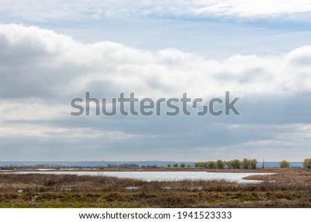 Laguna de la Nava, Fuentes de Nava, Tierra de Campos, Palencia, Castilla y Leon, Spain Zdjęcia stock ©