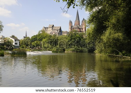 Lahn and Cathedral in Limburg