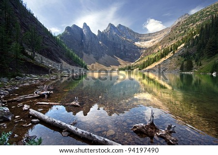 Lake Agnes, Near Lake Louise, Banff National Park, Alberta, Canada