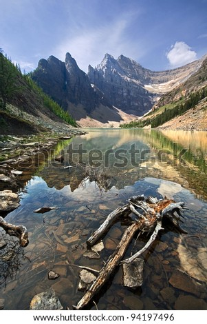 Lake Agnes, Near Lake Louise, Banff National Park, Alberta, Canada