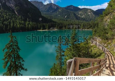 Lake Braies Fanes-Senes-Braies Regional Park dolomites italian alps italy #1493145017