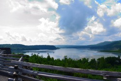Lake Champlain Panorama from Fort Ticonderoga
