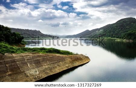 Lake Cirata Noon #1317327269