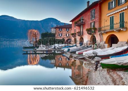 Lake Como, Italy #621496532