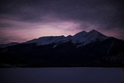 Lake Dillon at Night