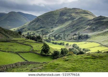 Lake District Valley