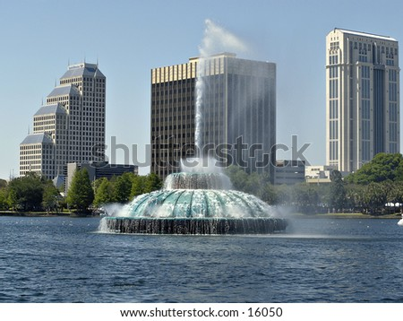 Lake Eola - Orlando Florida