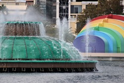 Lake Eola Pride Orlando, Florida