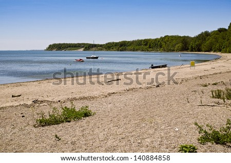 Lake Erie beach - at Port Ryerse, Ontario