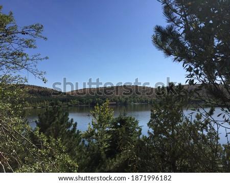 lake eymir in 2 photos