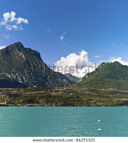 Lake Garda - Toscolano-maderno and his mountains