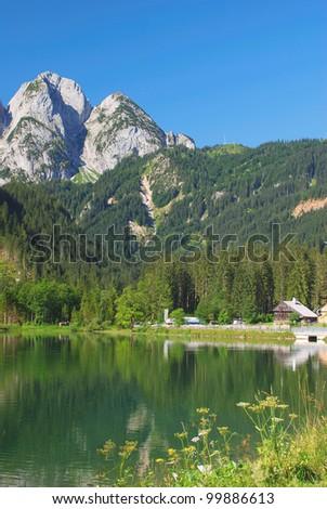 Lake Gosausee,Dachstein Mountains,Austria