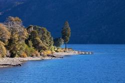 Lake Guttieres, Bariloche, Argentina