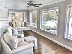 Lake house sunroom