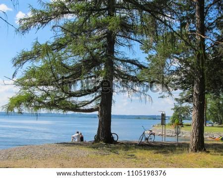 Lake in Asikkala, Finland