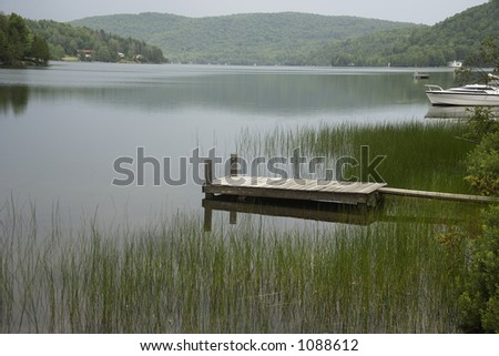lake in quebec, canada