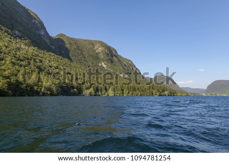 lake in slovenia #1094781254