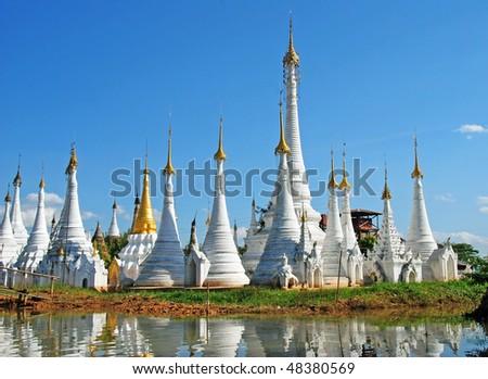 Lake Inle. Ywama. Myanmar.