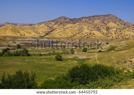 Lake Kaweah Recreation Area outside of Sequoia National Park, California.