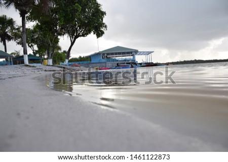Lake Mainstay Guyana River view