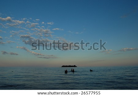 Lake Malawi at Kande beach