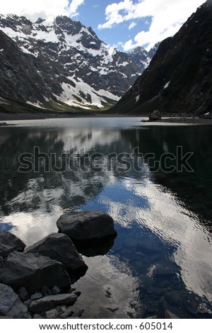 Lake mariam reflection