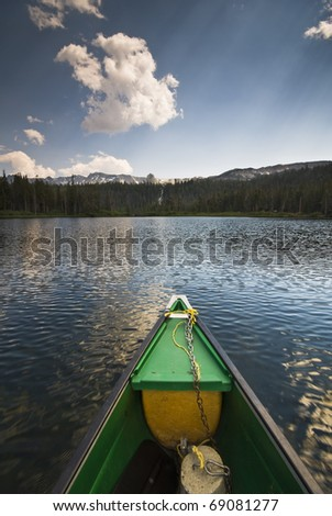 Lake Mary near Mammoth Lakes