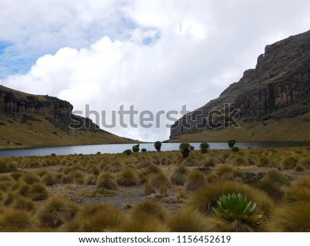 Lake Michaelson Mt Kenya National Park