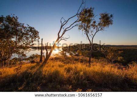 Lake Moondarra view