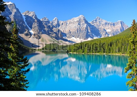 Lake Moraine, AB, Canada