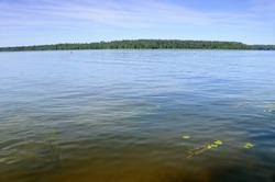 Lake Necko. Augustow. Poland