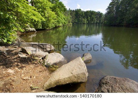 Lake Norman in the Piedmont of North Carolina