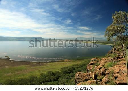 Lake Nukuru National Park in Kenya, Africa