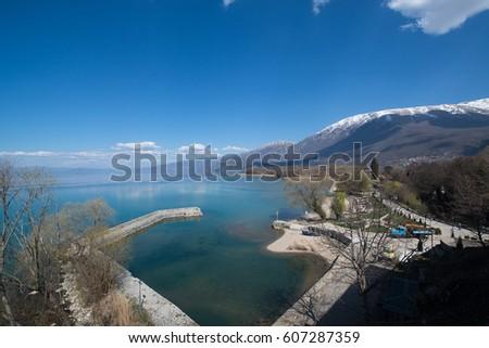 Lake Ohrid, Macedonia #607287359