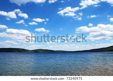 Lake on summer #73240975