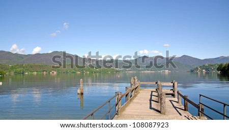 Lake Orta,italian Lake District,Lombardy