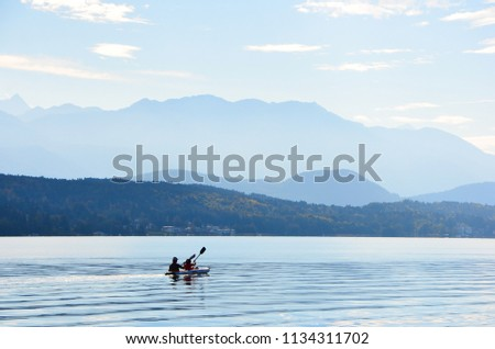 lake poertschach in Austria #1134311702