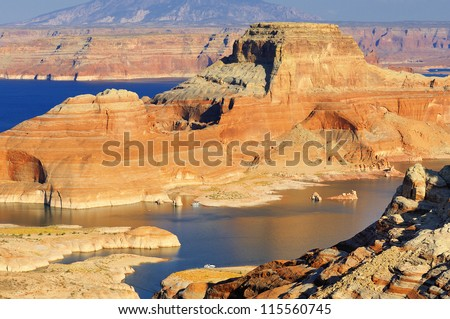 lake Powell and Glen Canyon, Arizona and Utah, USA